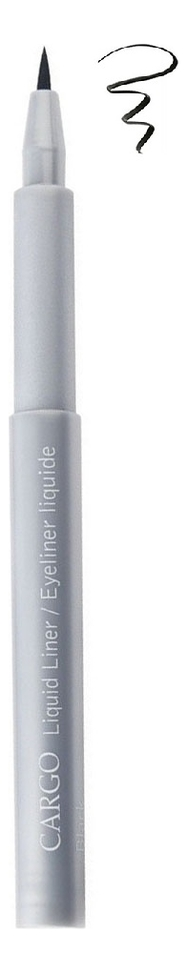 Фото - Подводка-фломастер для глаз Liquid Liner 1,1мл: Black подводка graphik ink liner подводка фломастер для глаз 01 black