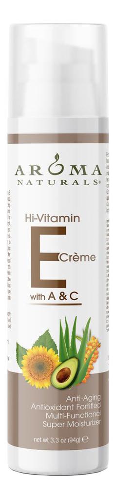 Крем для лица с витамином E Vitamin E Creme: Крем 94г крем amazing aroma naturals