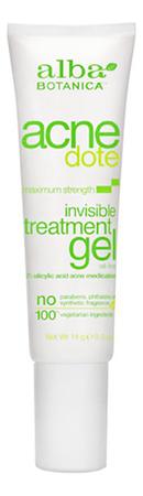 Гель для лица максимальный эффект Acnedote Invisible Treatment Gel 14г недорого