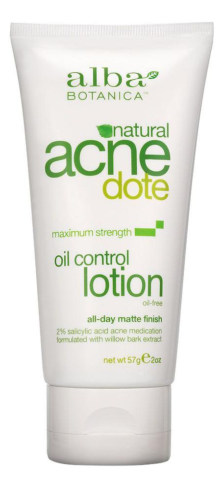 Купить Противовоспалительный лосьон для лица Acnedote Oil Control Lotion 57г, alba BOTANICA
