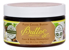 Aroma Naturals Твердое масло для тела Pure Cocoa Butterx 95г