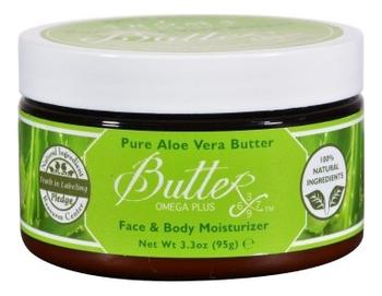 Твердое масло для тела Pure Aloe Vera Butterx 95г твердое масло для массажа