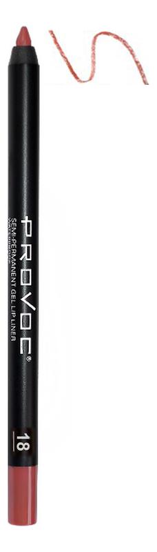 Подводка гелевая в карандаше для губ Gel Lip Liner: 18 Irresistible недорого