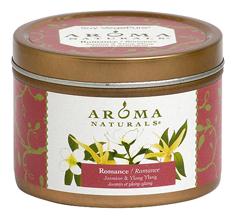 Купить Ароматическая свеча Romance Jasmine & Ylang Ylang 80г, Ароматическая свеча Romance Jasmine & Ylang Ylang 80г, Aroma Naturals