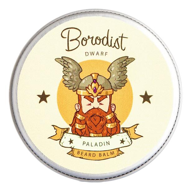 borodist масло для бороды warming Бальзам для бороды Beard Balm Paladin 30г