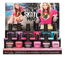 Artistic Набор лаков для ногтей A New Skate Of Mind 12*15мл (Hell On Wheels + Love At First Skate + Gnarly In Pink + Babes & Boards + Shred It Up + Catch My Air)