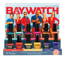 Artistic Набор лаков для ногтей Baywatch 12*15мл (Resting Beach Face + Off Duty + Baes Of The Bay + Little Red Suit + Summer Crushin' + Sun's Out, Buns Out)