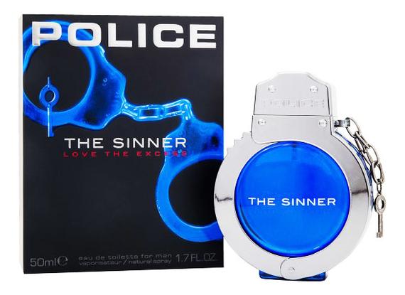Police The Sinner For Men: туалетная вода 50мл