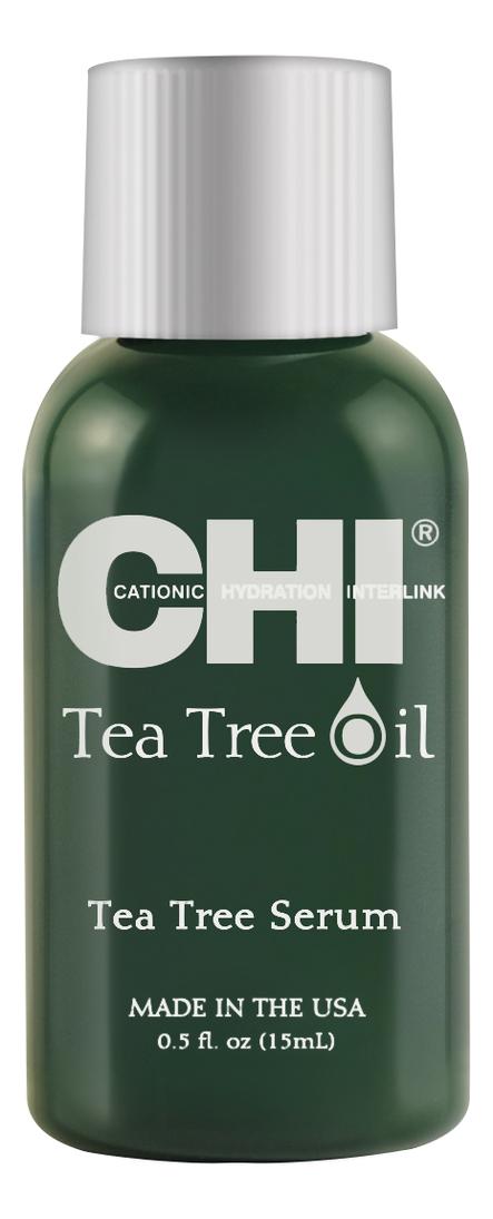 Фото - Сыворотка для волос с маслом чайного дерева Tea Tree Oil Serum: Сыворотка 15мл гель смазка sico tea tree oil с маслом чайного дерева 100 мл