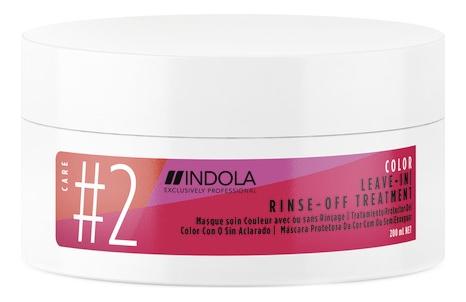 Купить Маска для окрашенных волос Color Leave-In Rinse-Off Treatment Mask: Маска 200мл, Indola