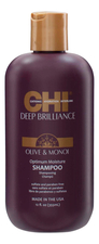 CHI Увлажняющий шампунь для волос Deep Brilliance Olive & Monoi Optimum Moisture Shampoo