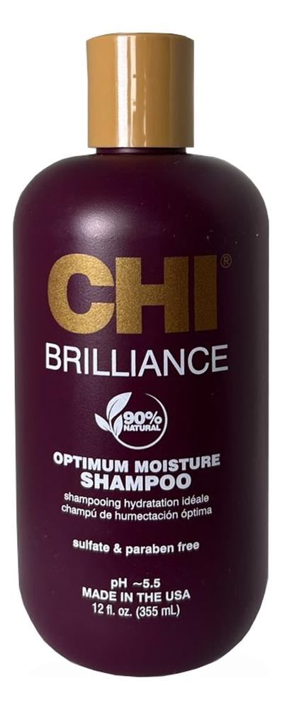 Купить Увлажняющий шампунь для волос Deep Brilliance Olive & Monoi Optimum Moisture Shampoo: Шампунь 355мл, Увлажняющий шампунь для волос Deep Brilliance Olive & Monoi Optimum Moisture Shampoo, CHI