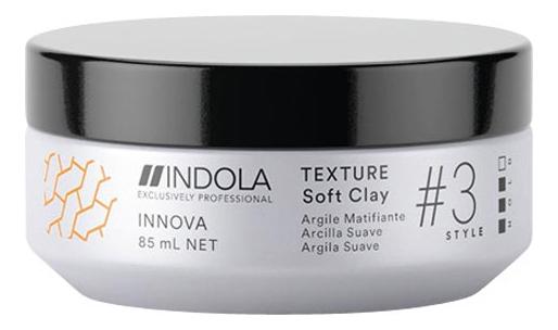 Глина для волос легкой фиксации Innova Texture Soft Clay 85мл