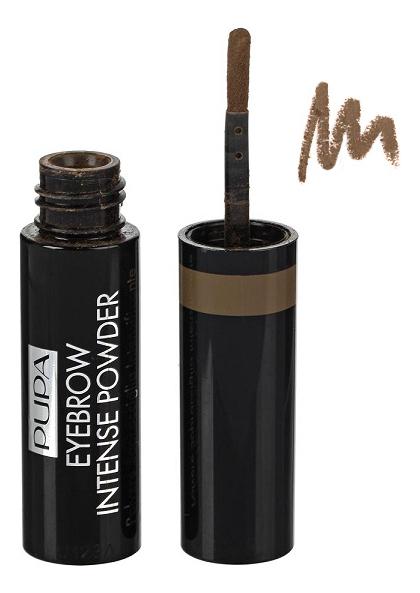 Купить Пудра для бровей Eyebrow Intense Powder 1г: 002 Brown, PUPA Milano