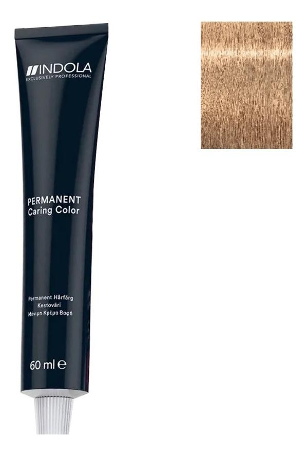 Стойкая крем-краска для волос Permanent Caring Color 60мл: 9.38 Очень светлый блондин золотистый шоколадный стойкая крем краска для волос permanent caring color 60мл 5 35 светлый коричневый золотистый махагон
