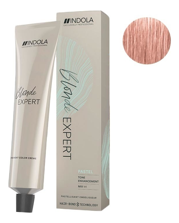 Купить Перманентный крем-краситель для волос Profession Blonde Expert Pastel Toner 60мл: No P.16, Indola