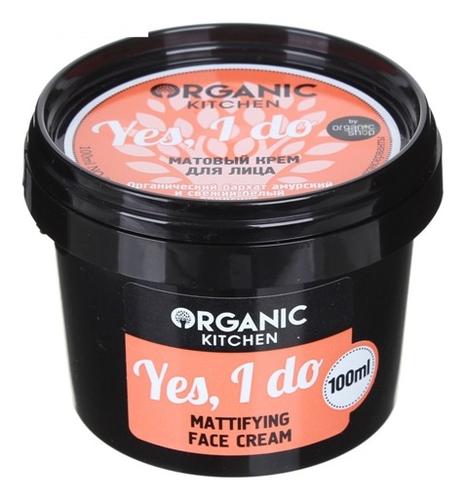 Матовый крем для лица Kitchen Mattifyng Face Cream Yes I Do 100мл