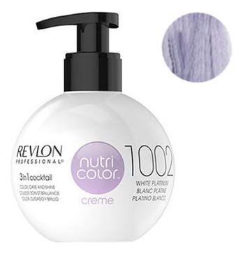 Краска для волос Nutri Color Creme 1002 White Platinum: Краска 270мл fito color краска для волос