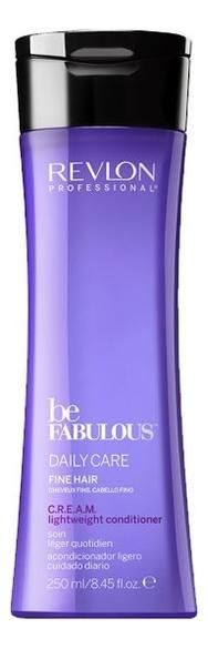 Купить Очищающий кондиционер для тонких волос Be Fabulous Daily Care Fine Hair: Кондиционер 250мл, Revlon Professional