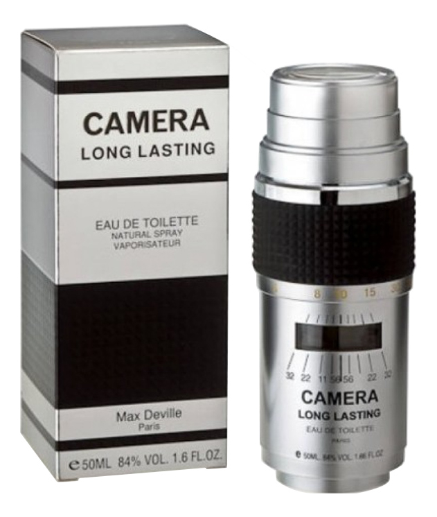 Camera Long Lasting: туалетная вода 50мл, Max Deville  - Купить