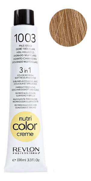 Краска для волос Nutri Color Creme 1003 Pale Gold: Краска 100мл недорого