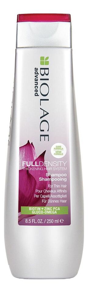 Фото - Шампунь для ослабленных и тонких волос Biolage Advanced Fulldensity Shampoo: Шампунь 250мл matrix шампунь для тонких волос fulldensity biolage 250 мл