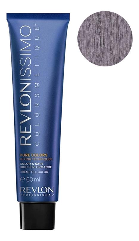 Крем-краска для волос Revlonissimo Colorsmetique Pure Colors 60мл: 0-12 Перламутрово-пепел, Revlon Professional  - Купить