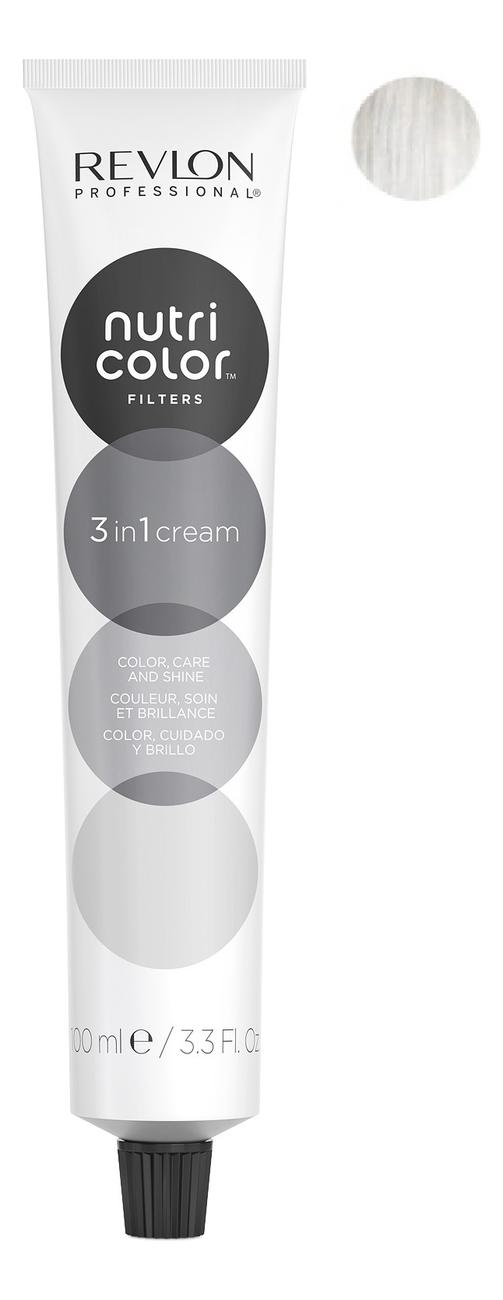 Краска для волос Nutri Color Creme 000 White Blanc: Краска 100мл недорого