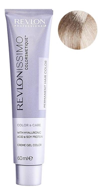 Купить Стойкая краска для волос Revlonissimo Colorsmetique Color & Care 60мл: 10.01 Очень сильно светлый блондин пепельный, Стойкая краска для волос Revlonissimo Colorsmetique Color & Care 60мл, Revlon Professional