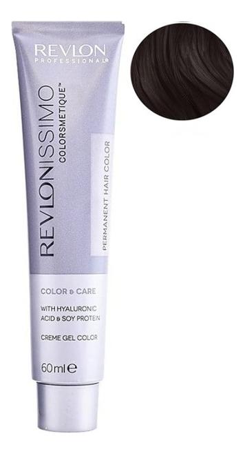 Стойкая краска для волос Revlonissimo Colorsmetique Color & Care 60мл: 3 Темно-коричневый