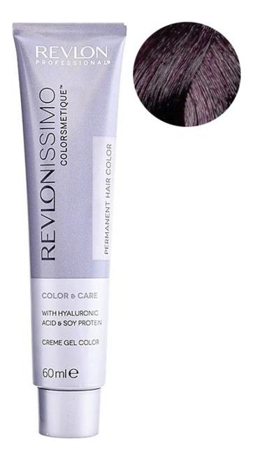 Купить Стойкая краска для волос Revlonissimo Colorsmetique Color & Care 60мл: 33.20 Темно-коричневый бургундский, Стойкая краска для волос Revlonissimo Colorsmetique Color & Care 60мл, Revlon Professional