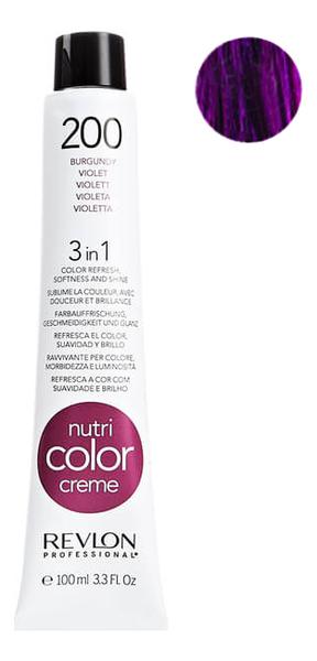 Краска для волос Nutri Color Creme 200 Violet: Краска 100мл недорого