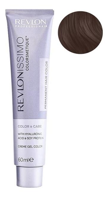 Купить Стойкая краска для волос Revlonissimo Colorsmetique Color & Care 60мл: 5.12 Светло-коричневый пепельно-переливающийся, Стойкая краска для волос Revlonissimo Colorsmetique Color & Care 60мл, Revlon Professional