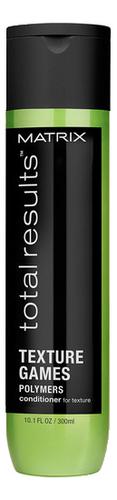 Универсальный кондиционер для волос Total Results Texture Games Polymers Conditioner: Кондиционер 300мл matrix biolage keratindose conditioner кондиционер восстанавливающий 1000 мл