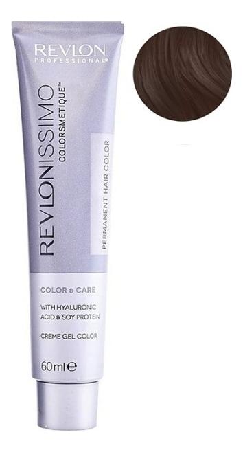 Купить Стойкая краска для волос Revlonissimo Colorsmetique Color & Care 60мл: 6.12 Темный блондин пепельно-переливающийся, Стойкая краска для волос Revlonissimo Colorsmetique Color & Care 60мл, Revlon Professional