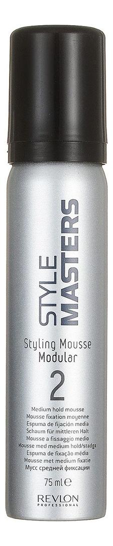 Мусс для волос Style Masters Styling Mousse Modular: Мусс 75мл мусс для укладки revlon professional revlon professional re044lmukt83