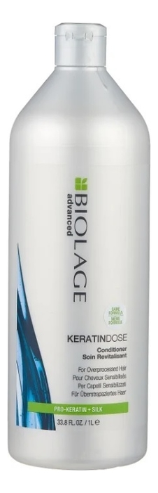 Кондиционер для сильно поврежденных волос Biolage Advanced Keratindose Conditioner: Кондиционер 1000мл