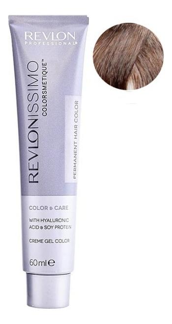 Купить Стойкая краска для волос Revlonissimo Colorsmetique Color & Care 60мл: 7.12 Блондин пепельно-переливающийся, Стойкая краска для волос Revlonissimo Colorsmetique Color & Care 60мл, Revlon Professional