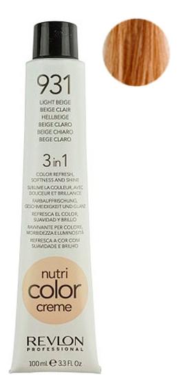 Краска для волос Nutri Color Creme 931 Light Beige: Краска 100мл недорого