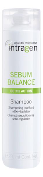 Купить Шампунь для жирной кожи головы Intragen Sebum Balance: Шампунь 250мл, Revlon Professional