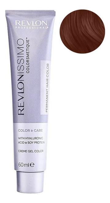Стойкая краска для волос Revlonissimo Colorsmetique Color & Care 60мл: 7.44 Блондин гипер-медный фото