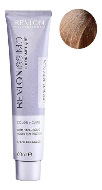 Стойкая краска для волос Revlonissimo Colorsmetique Color & Care 60мл: 8.23 Светлый блондин переливающийся золотистый фото