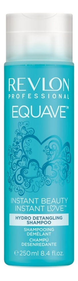 Фото - Шампунь облегчающий расчесывание волос Equave Instant Beauty: Шампунь 250мл revlon professional шампунь equave instant beauty hydro detangling 250 мл
