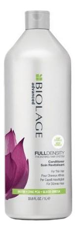 Фото - Кондиционер для тонких волос Biolage Advanced Fulldensity Conditioner: Кондиционер 1000мл matrix шампунь для тонких волос fulldensity biolage 250 мл