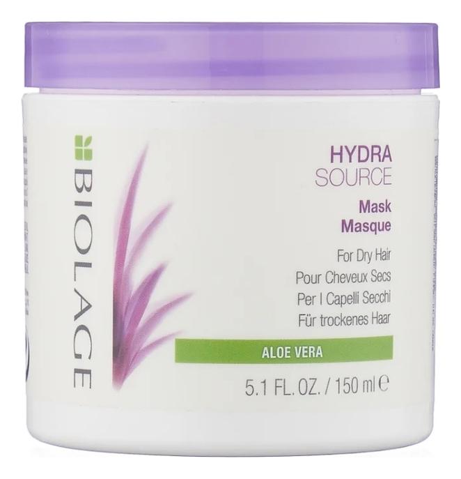 Увлажняющая маска для волос с экстрактом алоэ Biolage Hydrasource Aloe Mask: Маска 150мл недорого