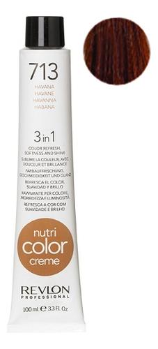 Краска для волос Nutri Color Creme 713 Havana: Краска 100мл недорого