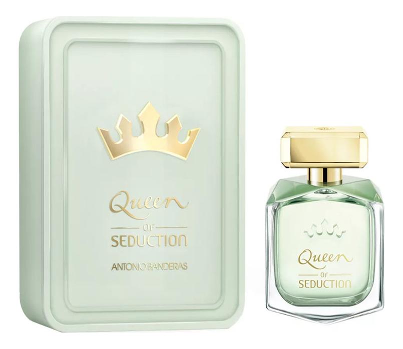 Antonio Banderas Queen Of Seduction: туалетная вода 80мл (металлическая коробка) фото