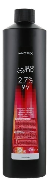 Активатор для безаммиачных красок 2,7% Color Sync 1000мл: Активатор 1000мл