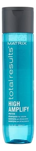 Шампунь для тонких волос Total Results High Amplify Protein Shampoo: 300мл