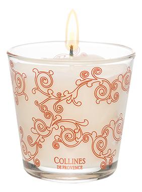 Купить Ароматическая свеча Silk Feather: Свеча 100г, Collines de Provence